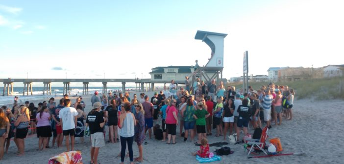 Sea turtle volunteers fear second Wrightsville Beach nest a total loss, cite pier lights as distraction
