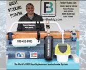 Fender Buddy marine fender system makes boating fun again
