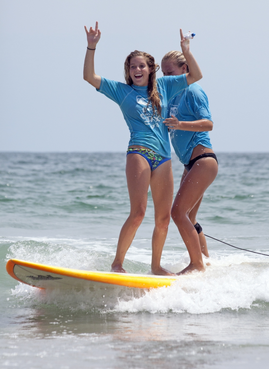 wrightsville beach girls Wrightsville beach, nc – one weekend per year, the boys step aside, and surfer girls of all ages take center stage at the wrightsville beach wahine classic.