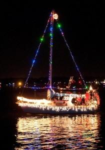 "Best Sailboat, ""Patriotic Christmas"""